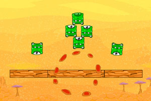 《炸飞方块小怪》游戏画面1