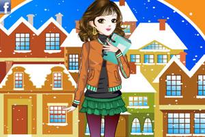 《时尚校园女孩》游戏画面1