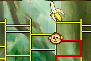 《新版猴子找香蕉》游戏画面1