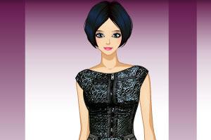 《美女的漂亮礼服》游戏画面1