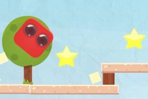 《红方块吃棒棒糖》游戏画面1