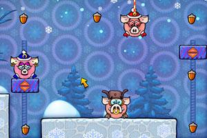 《贪吃的猪头季节版》游戏画面1