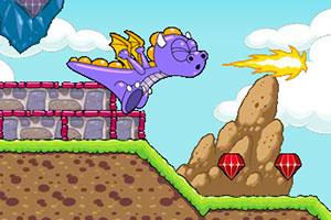 《小恐龙夺王位无敌版》游戏画面1