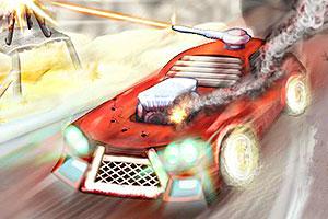 《烈火战车》游戏画面1