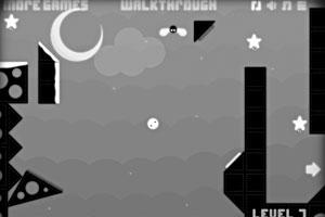 《小白球回家》游戏画面1