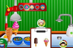 《夏日冷饮店》游戏画面1