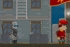 《蒸汽机器人历险记》游戏画面1