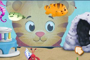 《小虎照顾小鱼》游戏画面1