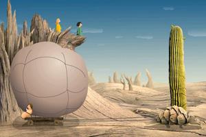 《沙漠苍鹰的欲望》游戏画面1
