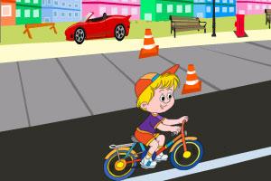 《小孩的滑板》游戏画面1