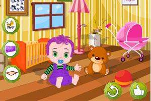 《布置宝宝房间》游戏画面1