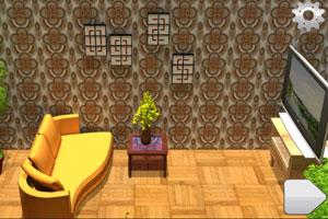 《逃出新房大客厅》游戏画面1