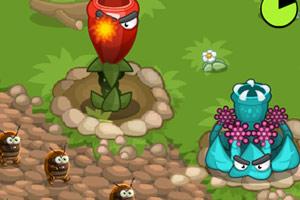 《守护西红柿》游戏画面1