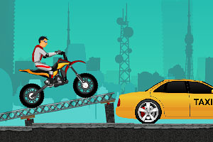 《疯狂摩托特技2》游戏画面1