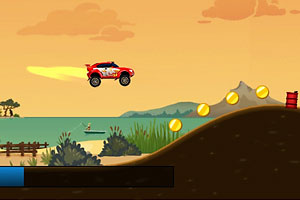《汽车总动员2》游戏画面1