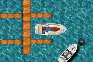 《水上停船》游戏画面1