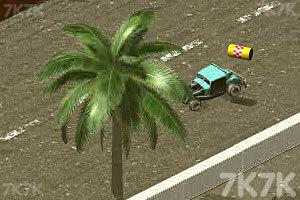 《3D疯狂车赛》游戏画面6