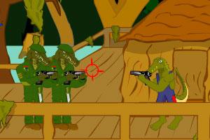 《鳄鱼大冒险无敌版》游戏画面1