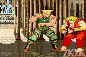 《街头霸王》游戏画面7