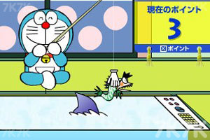 《机器猫钓鱼》游戏画面4