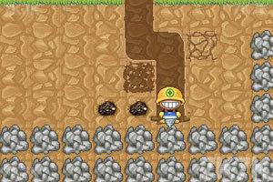 《挖地小子无敌版》游戏画面2