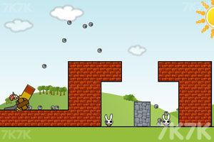 《炸死小兔子》游戏画面8