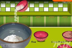 《爱心巧克力蛋糕》游戏画面2
