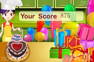 《爱心巧克力蛋糕》游戏画面10
