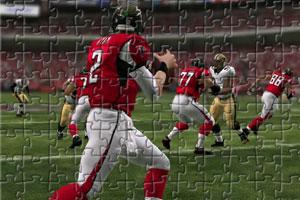 《橄榄球赛拼图》游戏画面1
