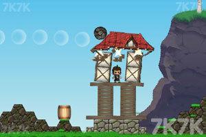 《大炮炸小人》游戏画面5