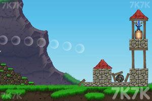 《大炮炸小人》游戏画面2