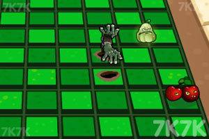 《植物战僵尸3D》游戏画面2