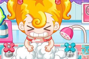 《小美洗发店》游戏画面9