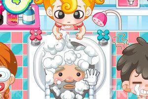 《小美洗发店》游戏画面7