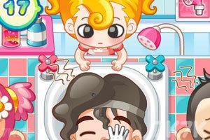 《小美洗发店》游戏画面3