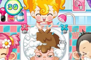 《小美洗发店》游戏画面5