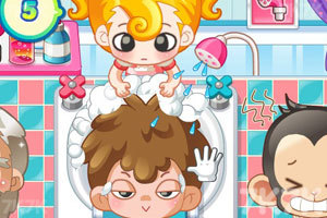 《小美洗发店》游戏画面8