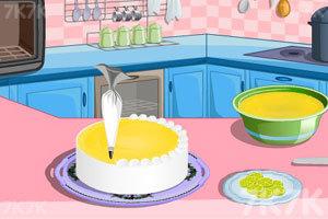 《制作柠檬蛋糕》游戏画面8