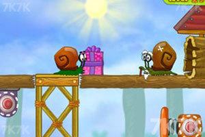 《蜗牛寻新房子2修改版》游戏画面1
