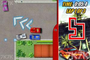 《烈焰赛车》游戏画面2