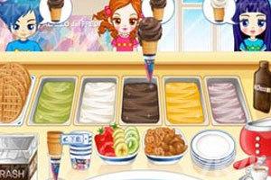 《阿Sue冰淇淋店》游戏画面2