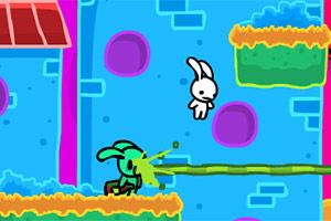 《流浪兔大营救无敌版》游戏画面1
