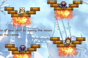 《大炮轰小人3》游戏画面3