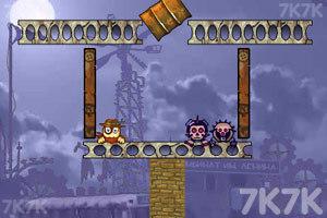 《大炮轰小人3》游戏画面9