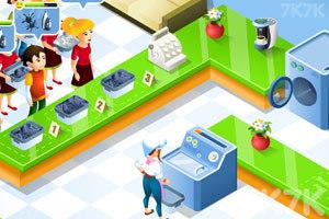 《经营洗衣店》游戏画面1