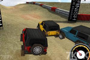 《3D吉普车越野赛》游戏画面1