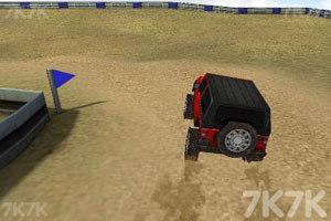《3D吉普车越野赛》游戏画面9