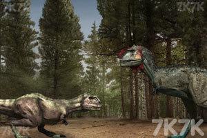 《恐龙格斗》游戏画面3