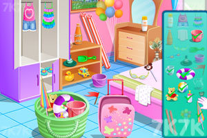 《可爱宝贝游沙滩》游戏画面3