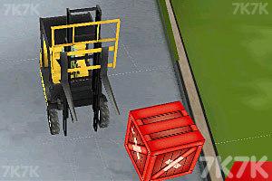 《3D仓库叉车》游戏画面10